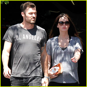 Megan Fox & Brian Austin Green: Lunch with Kassius!