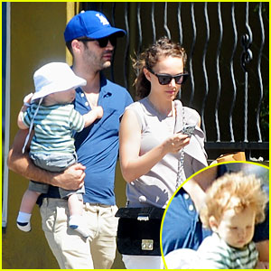 Natalie Portman: Square One Lunch with the Family!