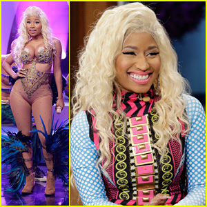Nicki Minaj: 'Pound The Alarm' Live on 'Jay Leno'!
