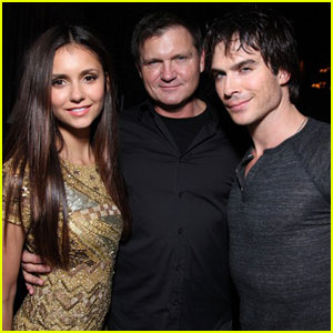 Ian Somerhalder &#038; Nina Dobrev: Comic Con Samsung Party