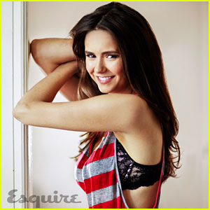 Nina Dobrev Tells Jokes for 'Esquire'