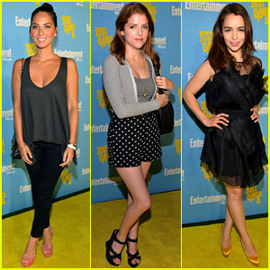 Olivia Munn &#038; Anna Kendrick: 'EW' Comic-Con Party!