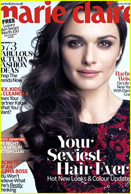 Rachel Weisz Covers 'Marie Claire UK' September 2012