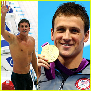 Ryan Lochte Wins USA's First Gold Medal in London!