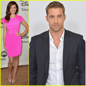 Scott Speedman & Autumn Reeser: TCA Press Tour!