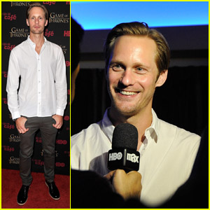 Alexander Skarsgard Hits Up Comic-Con!