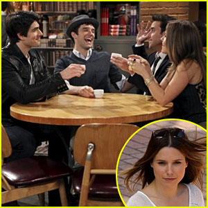 Sophia Bush in 'Partners' - First Look Pic!