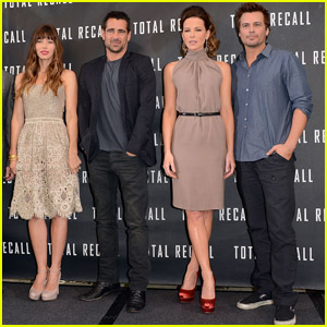Jessica Biel &#038; Kate Beckinsale: Total Recall Photo Call!
