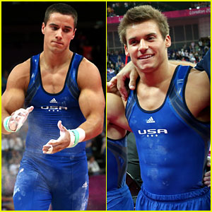 U.S. Men's Gymnastics Team Leads at London Olympics!
