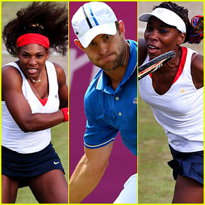 Olympic Tennis Recap: Andy Roddick, Venus & Serena Williams Advance!