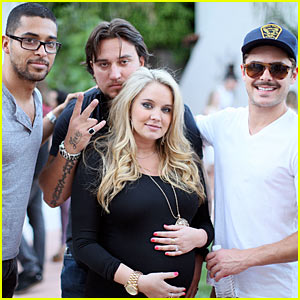Zac Efron: Tiffany Thornton Baby Shower! - Exclusive Pictures