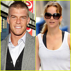 Alan Ritchson: Gloss in 'Catching Fire'!