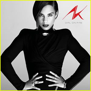 Alicia Keys: 'Girl on Fire' Album Cover Art!