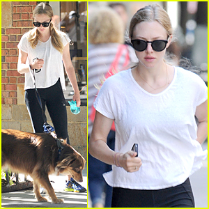 Amanda Seyfried: Responsible Dog Owner!