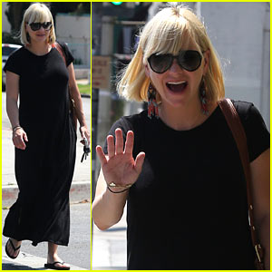 Anna Faris: Maxi Dress Baby Bump!