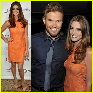 Kellan Lutz & Ashley Greene: Zooka Launch Party!