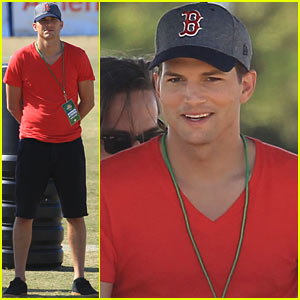 Ashton Kutcher: Dallas Cowboys Training Camp!