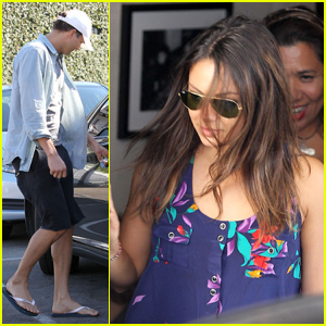 Ashton Kutcher &#038; Mila Kunis: Casa Vega Couple!