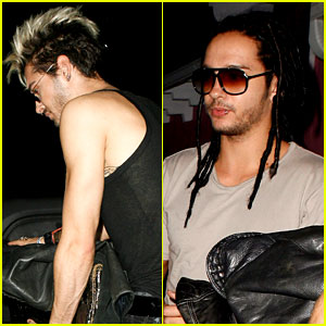Bill & Tom Kaulitz Party with Aerosmith!