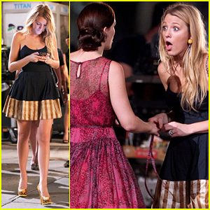 Blake Lively & Leighton Meester: 'Gossip Girl' Duo!