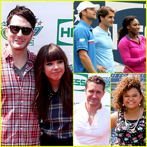 Carly Rae Jepsen & Adam Young: Arthur Ashe Kids' Day!