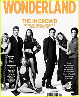 Chris Zylka: 'Wonderland' Cover with Tyler Posey!