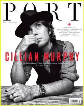 Cillian Murphy Covers 'Port' Magazine
