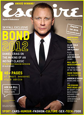 Daniel Craig Covers 'Esquire UK' October 2012