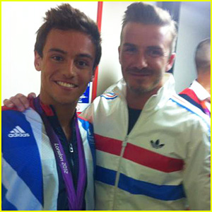 David Beckham: Olympics Celebration with Tom Daley!