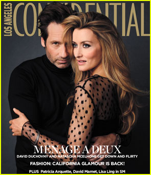 David Duchovny Covers 'Los Angeles Confidential' September 2012