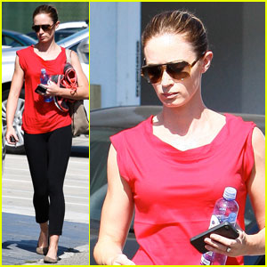 Emily Blunt: Gym Beauty