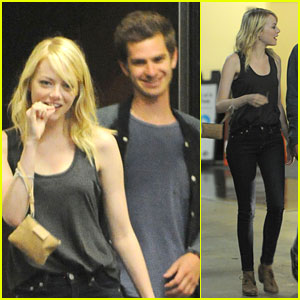 Emma Stone &#038; Andrew Garfield: Sushi Park Pair!