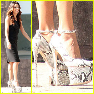 Eva Longoria: Sky High Heels for Project Imaginat10n!