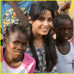 Freida Pinto: Plan International's Newest Global Brand Ambassador!