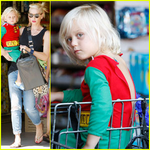 Gwen Stefani: Birthday Shopping Spree with Zuma!