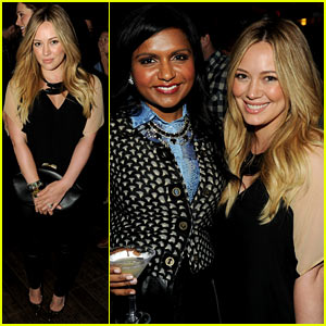Hilary Duff: 'The Mindy Project' Party!