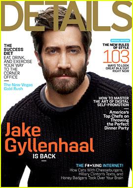 Jake Gyllenhaal Covers 'Details' September 2012