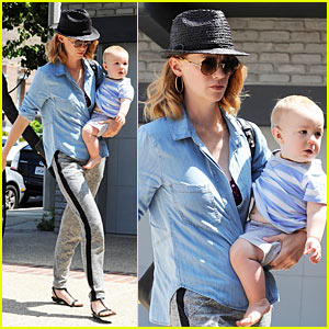 January Jones & Xander: LA Twosome