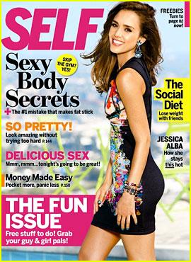 Jessica Alba Covers 'Self' September 2012