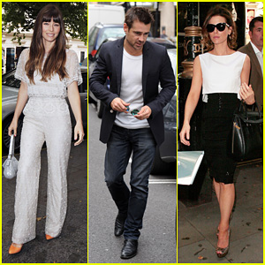 Jessica Biel & Kate Beckinsale: 'Total Recall' KISS FM Stop!