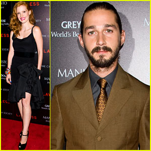 Jessica Chastain & Shia LaBeouf: 'Lawless'