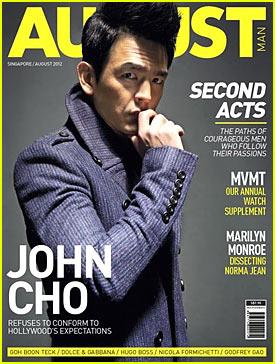 John Cho: August Man Cover!