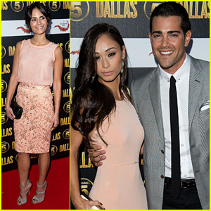 Jordana Brewster & Jesse Metcalfe: 'Dallas' Launch Party!