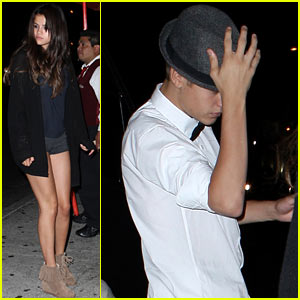 Justin Bieber &#038; Selena Gomez: Laugh Factory Date!