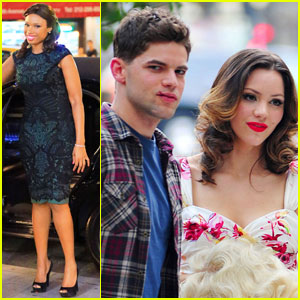 Katharine McPhee: 'Smash' with Jennifer Hudson & Jeremy