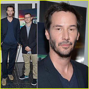 Keanu Reeves: 'Side By Side' Premiere!