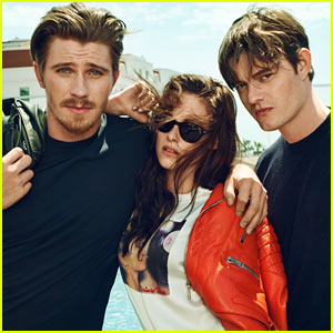 Kristen Stewart: 'Marie Claire' Feature with Garrett Hedlund & Sam Riley!