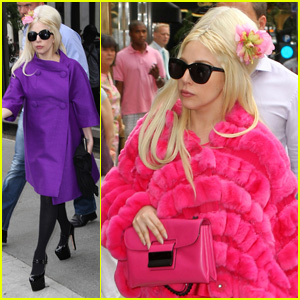 Lady Gaga: Bridal Boutique Shopper!