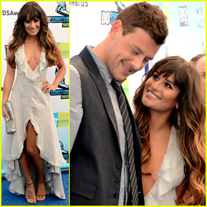 Lea Michele & Cory Monteith - Do Something Awards 2012