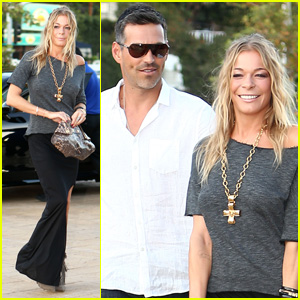 LeAnn Rimes: Birthday Celebration with Eddie Cibrian!